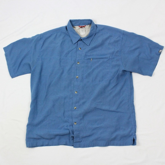 fece6e0b8 The North Face Mens Button Up Short Sleeve Shirt V